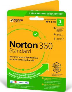Symantec NORTON 360 Standard 2021 (1 PC - 1 Year)