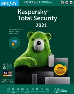 Kaspersky Total Security 2021 (3 Licences 2 Year) Key