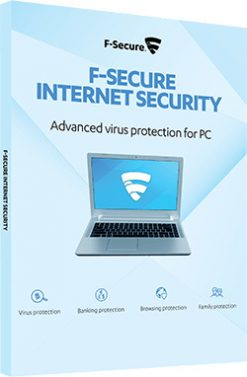F-Secure Internet Security 2021 5 PC 1 Year