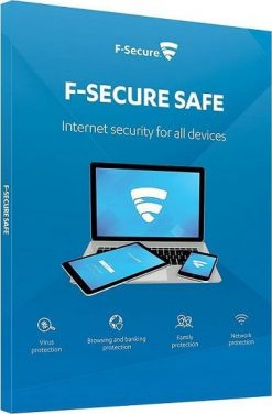 F-Secure Safe 2021 3 PC 1 Year