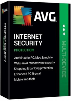 AVG Internet Security 2020 (3PC – 2 Year)
