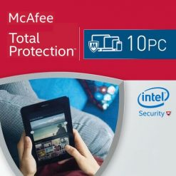 McAfee Total Protection 2021 10 PC 1 Year
